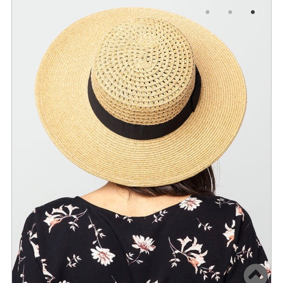 3a9be18e42d83 Sonoma Womens Straw Boater Hat